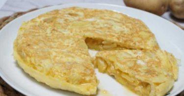 recette omelette espagnole aux pommes de terre