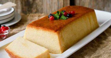 Pudding au pain fait maison